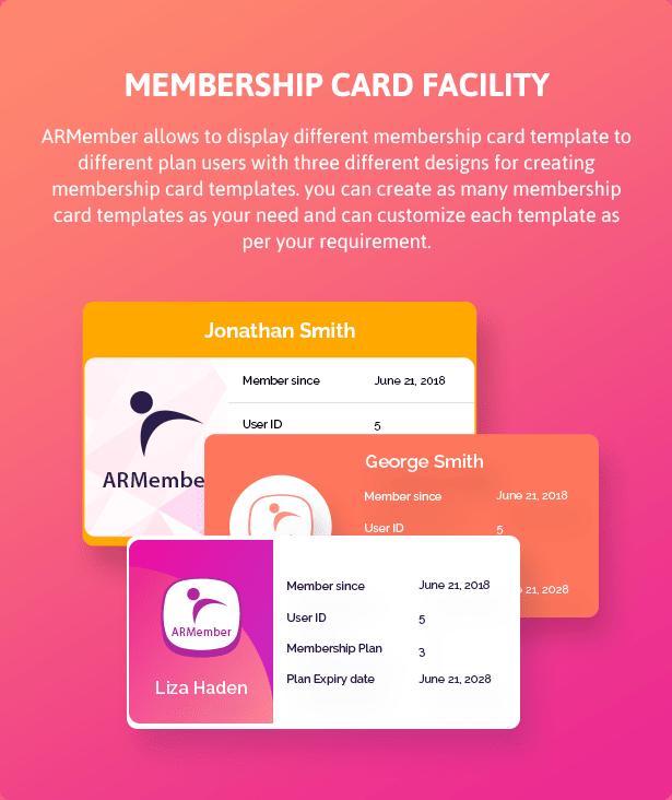 ARMember - WordPress Membership Plugin - 10