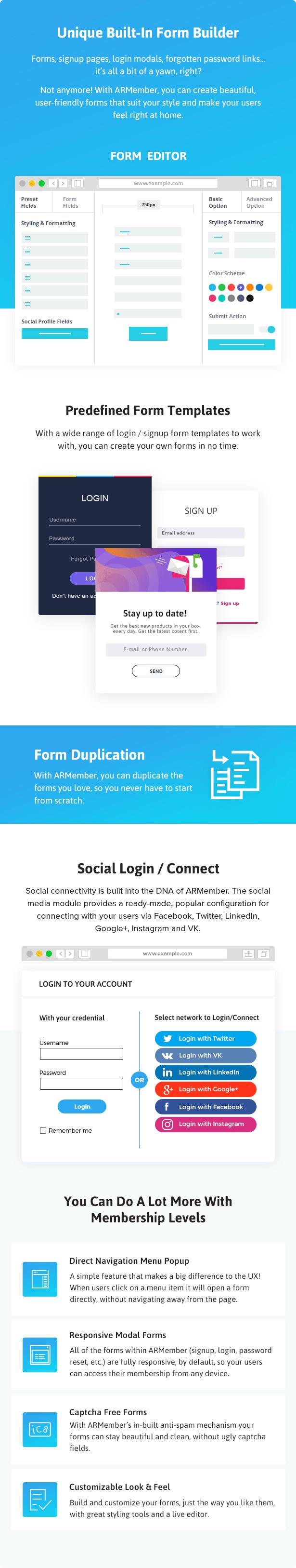 ARMember - WordPress Membership Plugin - 12