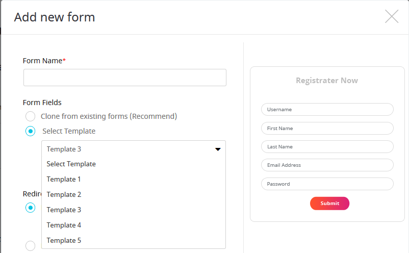 ARMember_form_Templates