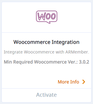 ARmember woocommerce