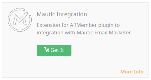 Mautic Integration - Wordpress Membership Plugin - ARMember